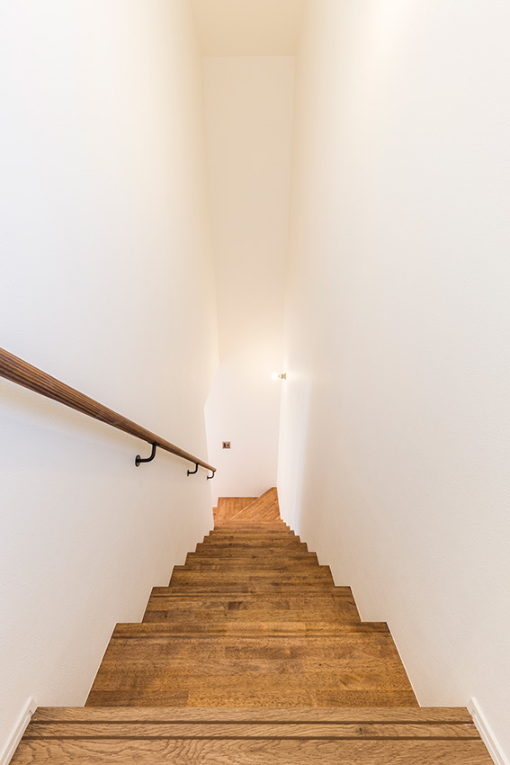 ゼロキューブシンプルスタイル 階段